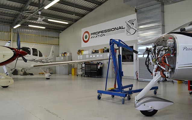 Officine presenti nell'aviosuperficie fly-ozzano - officine di manutenzione ufficiali per Cirrus