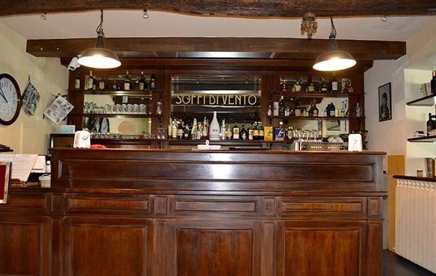 """ristorante """"Soffi di Vento"""" sito in aviosuperficie flyozzano"""